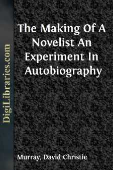 The Making Of A Novelist An Experiment In Autobiography