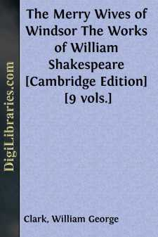 The Merry Wives of Windsor The Works of William Shakespeare [Cambridge Edition] [9 vols.]
