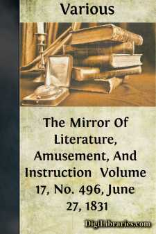 The Mirror Of Literature, Amusement, And Instruction  Volume 17, No. 496, June 27, 1831