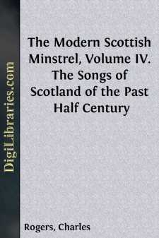 The Modern Scottish Minstrel, Volume IV.
