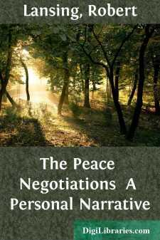 The Peace Negotiations  A Personal Narrative