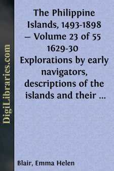 The Philippine Islands, 1493-1898 - Volume 23 of 55 