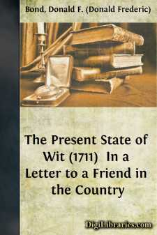 The Present State of Wit (1711) 