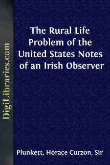 The Rural Life Problem of the United States