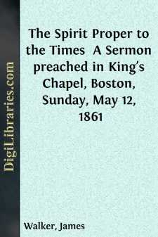 The Spirit Proper to the Times 