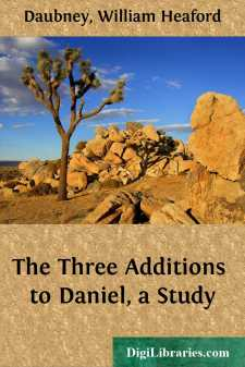 The Three Additions to Daniel, a Study