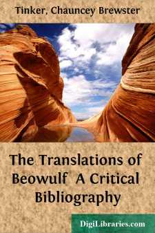 The Translations of Beowulf  A Critical Bibliography