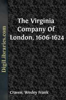 The Virginia Company Of London, 1606-1624