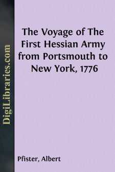 The Voyage of The First Hessian Army from Portsmouth to New York, 1776