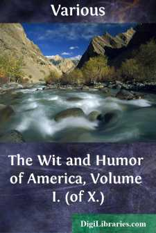 The Wit and Humor of America, Volume I. (of X.)
