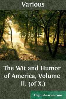 The Wit and Humor of America, Volume II. (of X.)