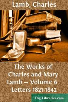 The Works of Charles and Mary Lamb - Volume 6 
