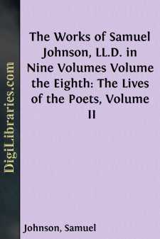 The Works of Samuel Johnson, LL.D. in Nine Volumes