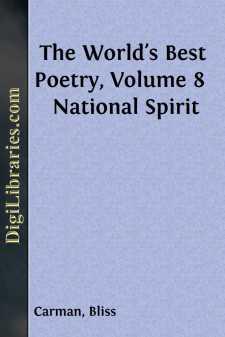The World's Best Poetry, Volume 8  National Spirit
