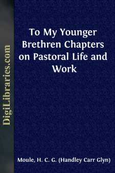 To My Younger Brethren