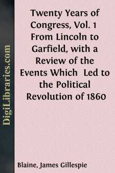 Twenty Years of Congress, Vol. 1 