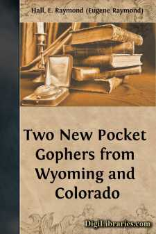 Two New Pocket Gophers from Wyoming and Colorado