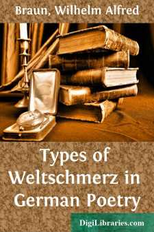 Types of Weltschmerz in German Poetry
