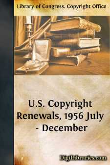U.S. Copyright Renewals, 1956 July - December
