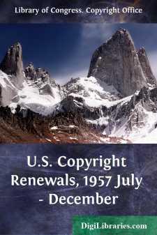 U.S. Copyright Renewals, 1957 July - December