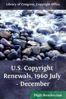 U.S. Copyright Renewals, 1960 July - December