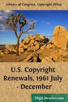 U.S. Copyright Renewals, 1961 July - December