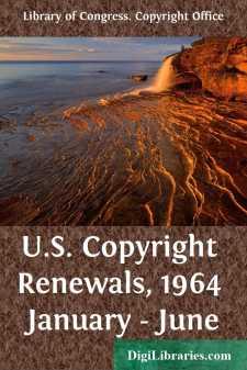 U.S. Copyright Renewals, 1964 January - June