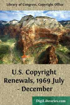 U.S. Copyright Renewals, 1969 July - December
