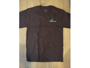Digistump Embroidered Brown T-shirt (Small)