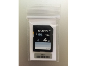 Sony 4GB SD Card