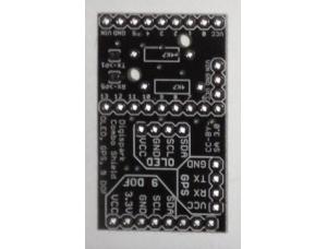 OLED/GPS/9 DOF Combo Shield PCB