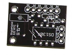 Real Time Clock Shield PCB