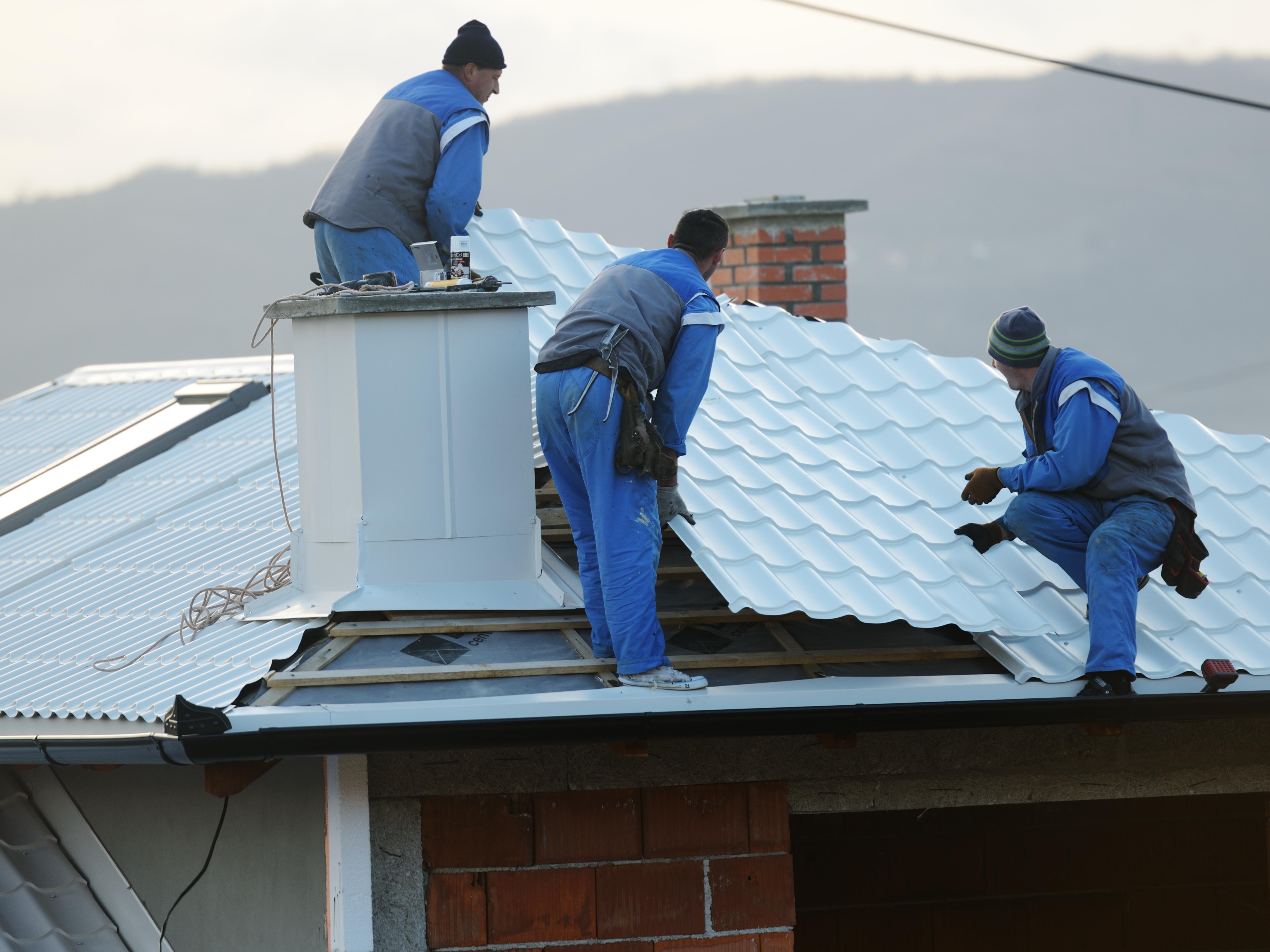 Fast roof repairs