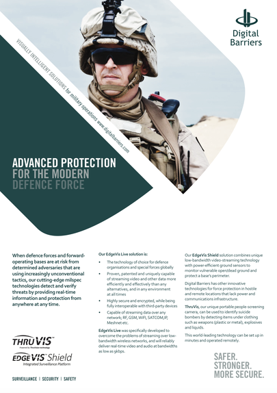 Front page of ukf042 force protection