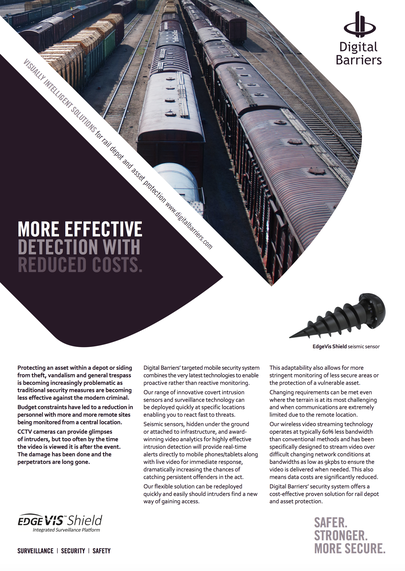 Front page of ukf012 rail depot and asset protection
