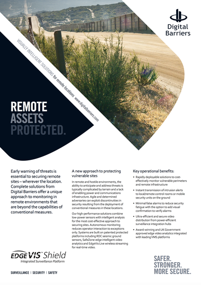 Front page of remote surveillance