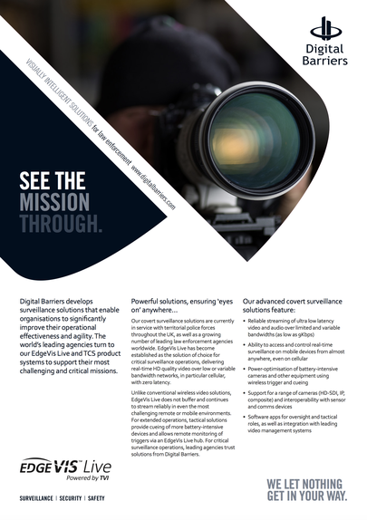 Front page of overview of law enforcement covert surveillance