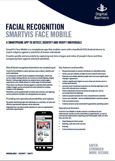 SmartVis face Mobile screenshot
