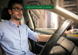 Driver face-rec ID verification for passenger safety