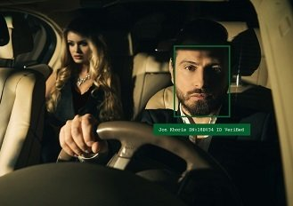 Driver face-rec verification check for passenger safety