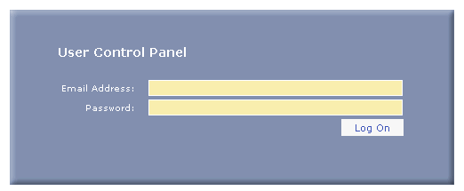 Mail User Control Panel