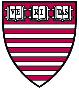 Harvard's John F. Kennedy school of Government logo - sheild with veritas, Harvard's motto.