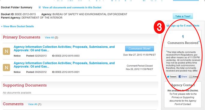 Screenshot of Regulations.gov after ux testing-2
