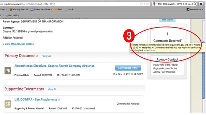 Screenshot of Regulations.gov before ux testing-2