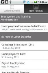 Department of Labor Stats App
