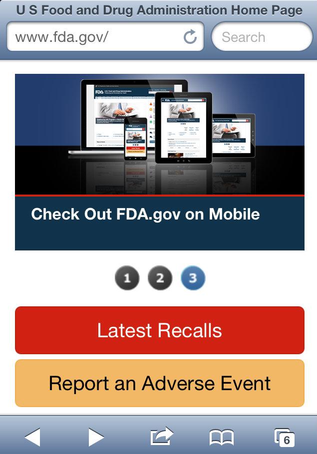 FDA Responsive SIte