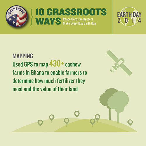 500-x-500-Earth-Day-Peace-Corps\---Mapping\---10-Grassroots-Ways-Peace-Corps-Volunteers-Make-Every-Day-Earth-Day-infographic-from-website