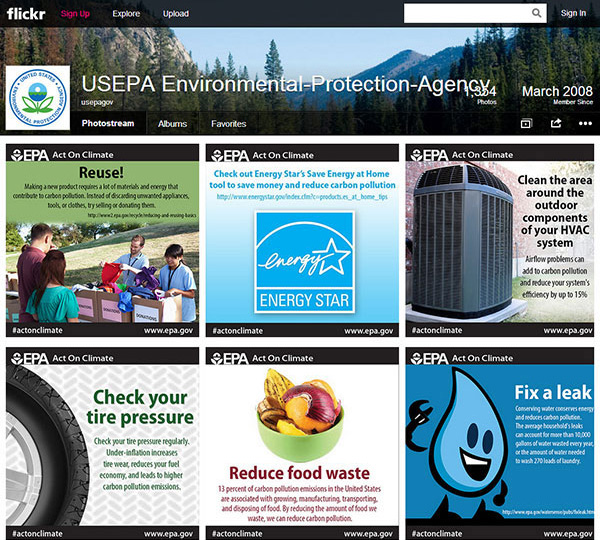 Earth Day 2014 EPA Environmental Protection Agency Act on Climate tool