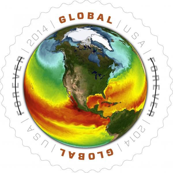 US Postal Service unveils new Earth Day stamp celebrating NOAA Climate Science