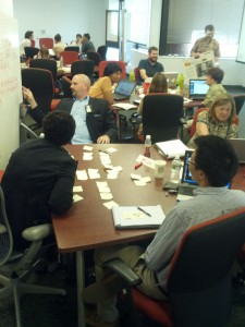 Photo of an Digital Services Innovation Center Agile Governance Sprint from August 2012.